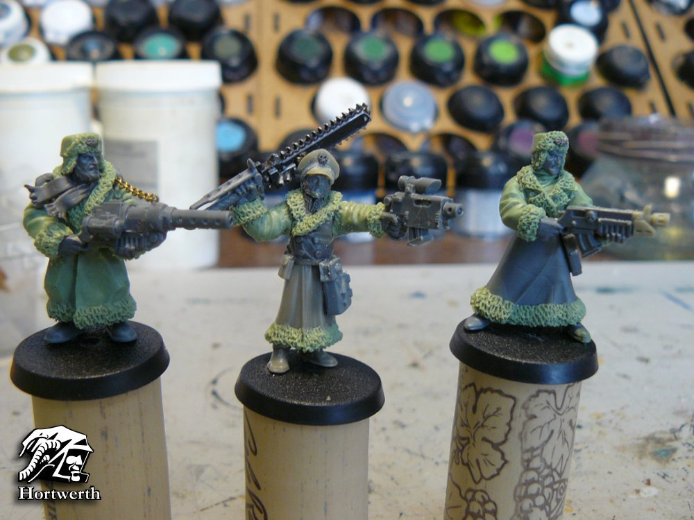 Ciaphas Cain and Valhallans WIP 32