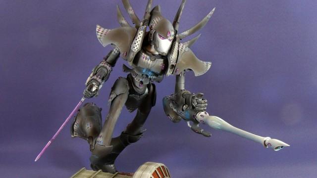 Eldar Phantom, Cobra and Scorpion finished