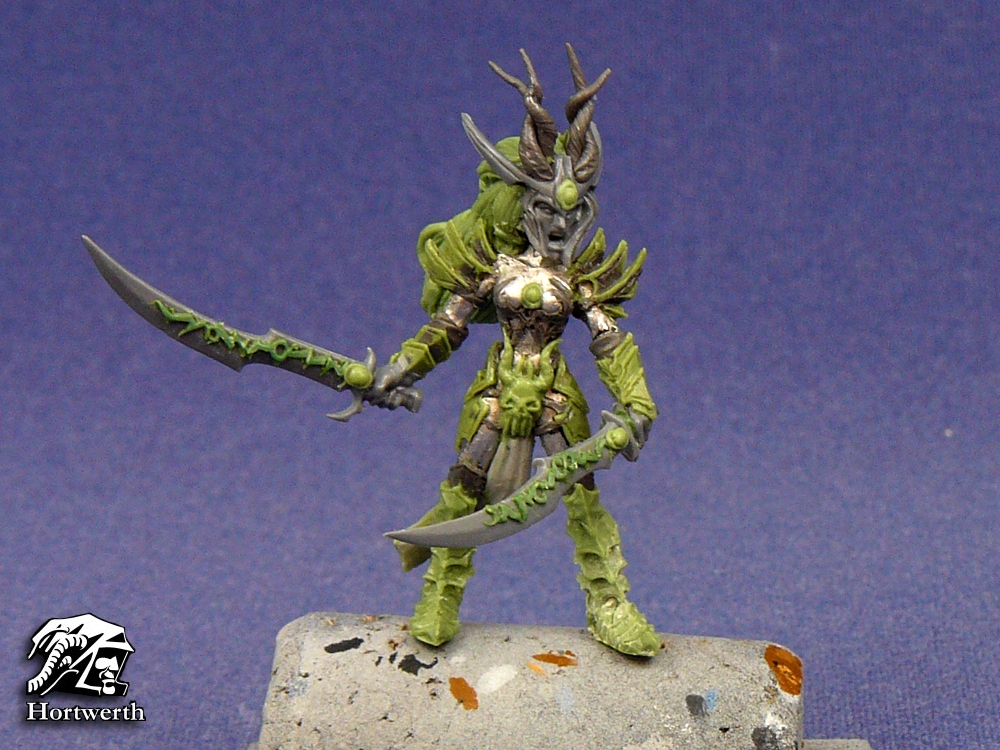 Dark Elf Fury Conversion 1