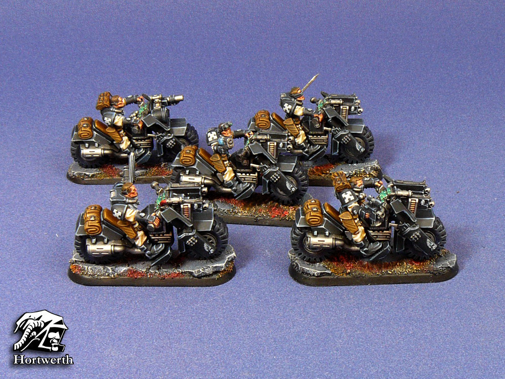 Garth Warrens Ravenguard scout bikers 2