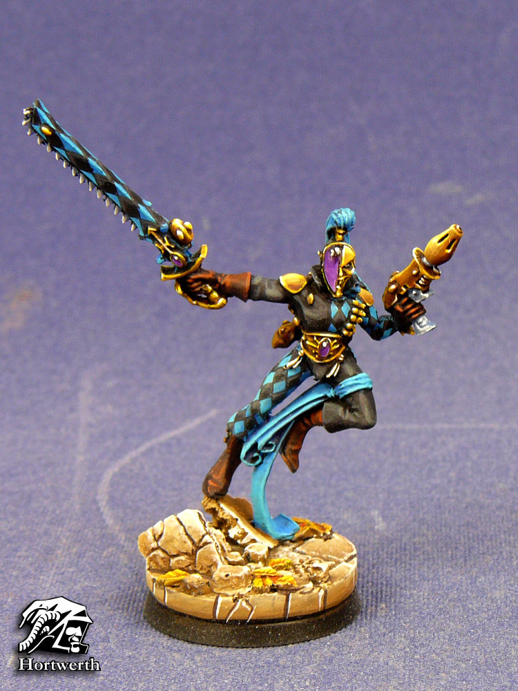 Harlequin with chainsword 1