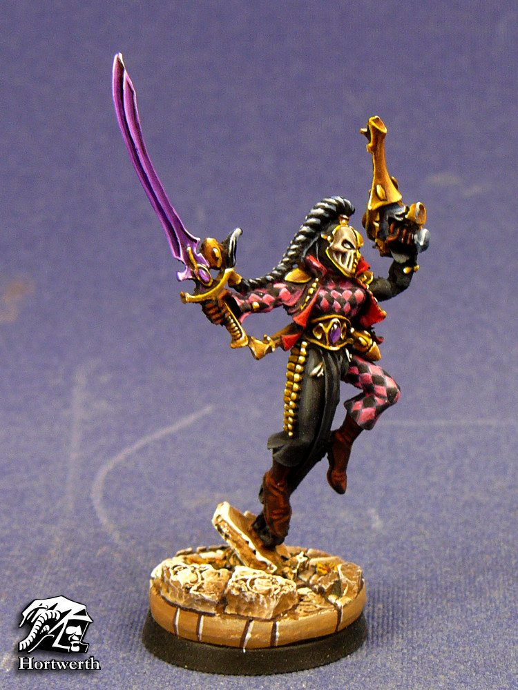 Harlequin with deathmask 2