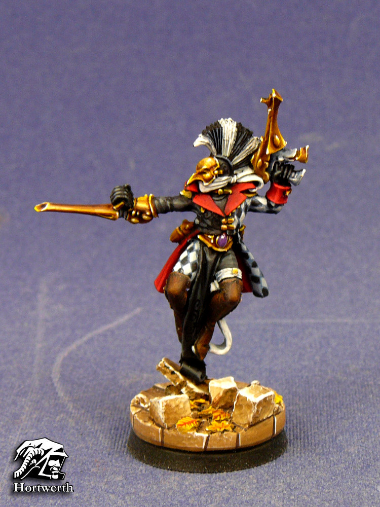 Harlequin with nose 1